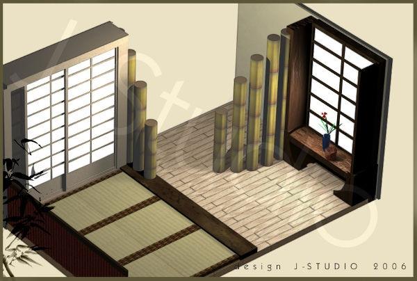 Design giapponese for Stanza design